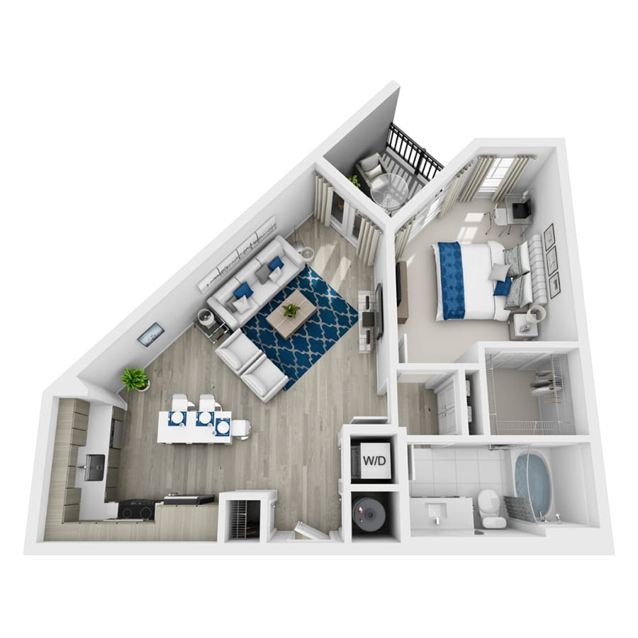 Rendering of Elysian floor plan